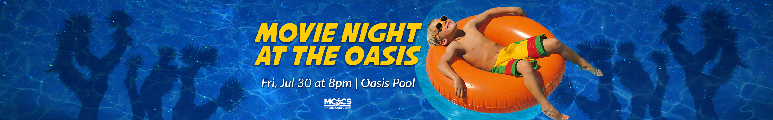 Movie Night at the Oasis @8PM
